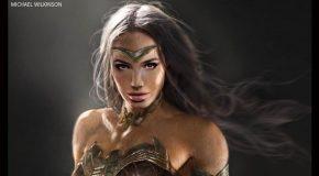 De superbes concept-arts de Wonder Woman dans Batman v Superman