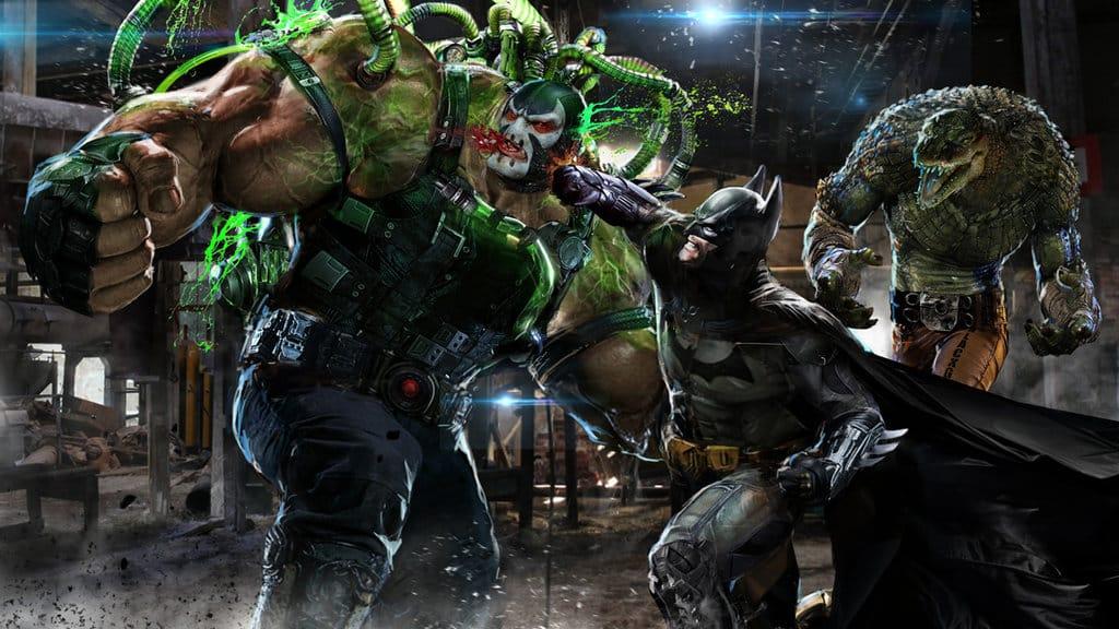 Batman vs. Bane vs. Killer Croc