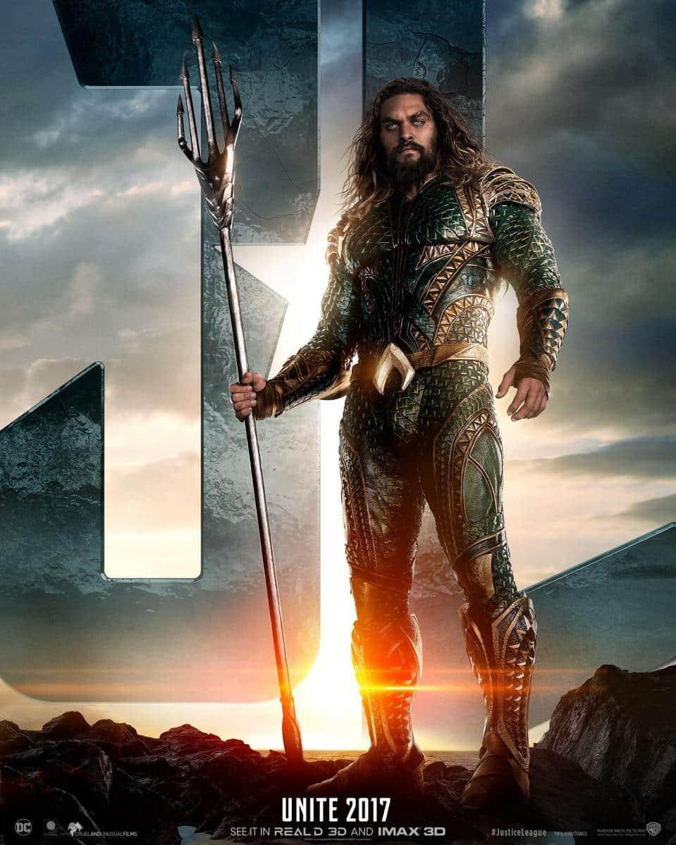 Justice League : Aquaman s'affiche avant la bande-annonce