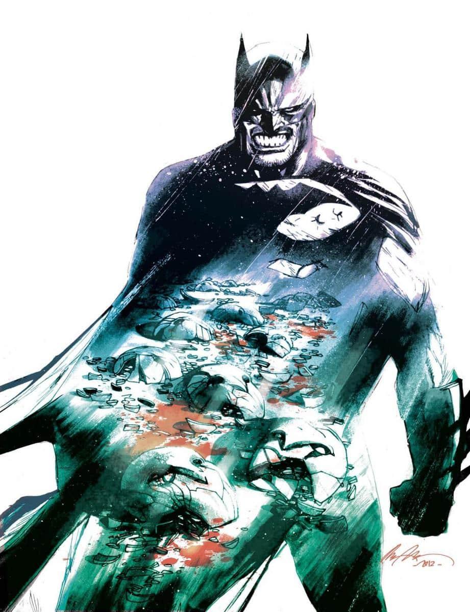 Une variant cover pour Batman #10 29