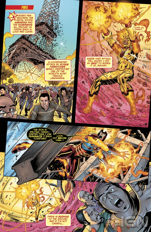 Preview VO - The Fury of Firestorm #9 2