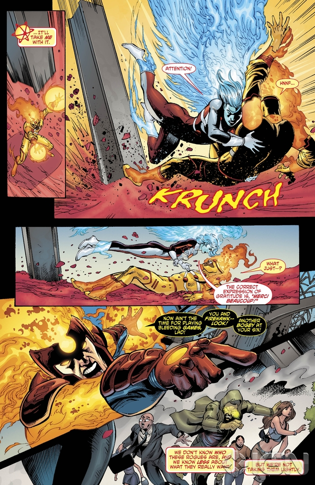 Preview VO - The Fury of Firestorm #9 3