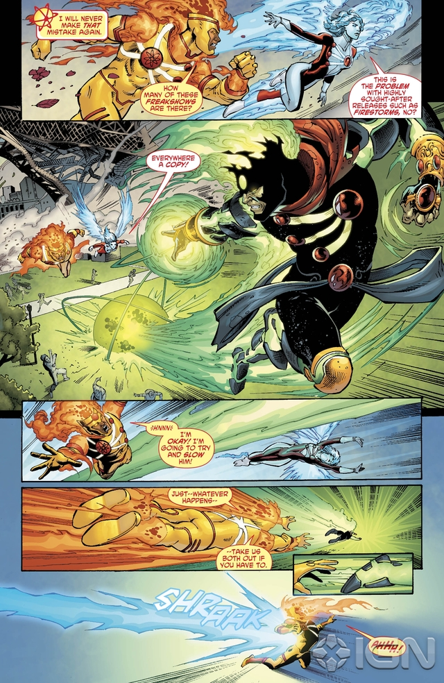 Preview VO - The Fury of Firestorm #9 4