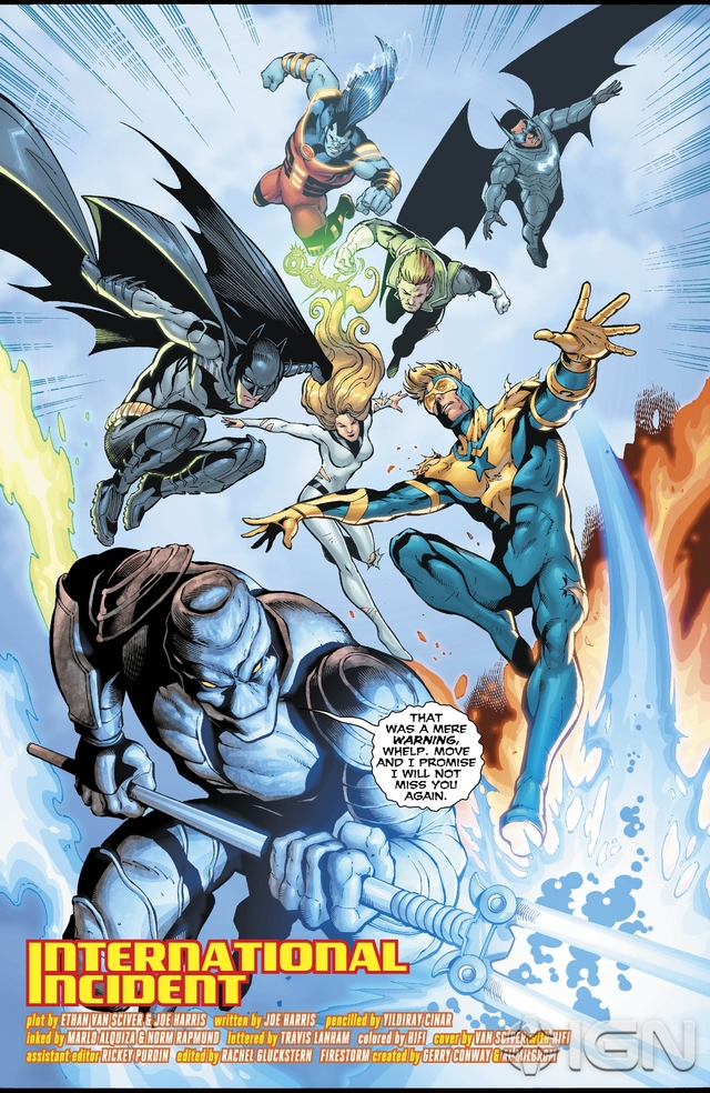 Preview VO - The Fury of Firestorm #9 5