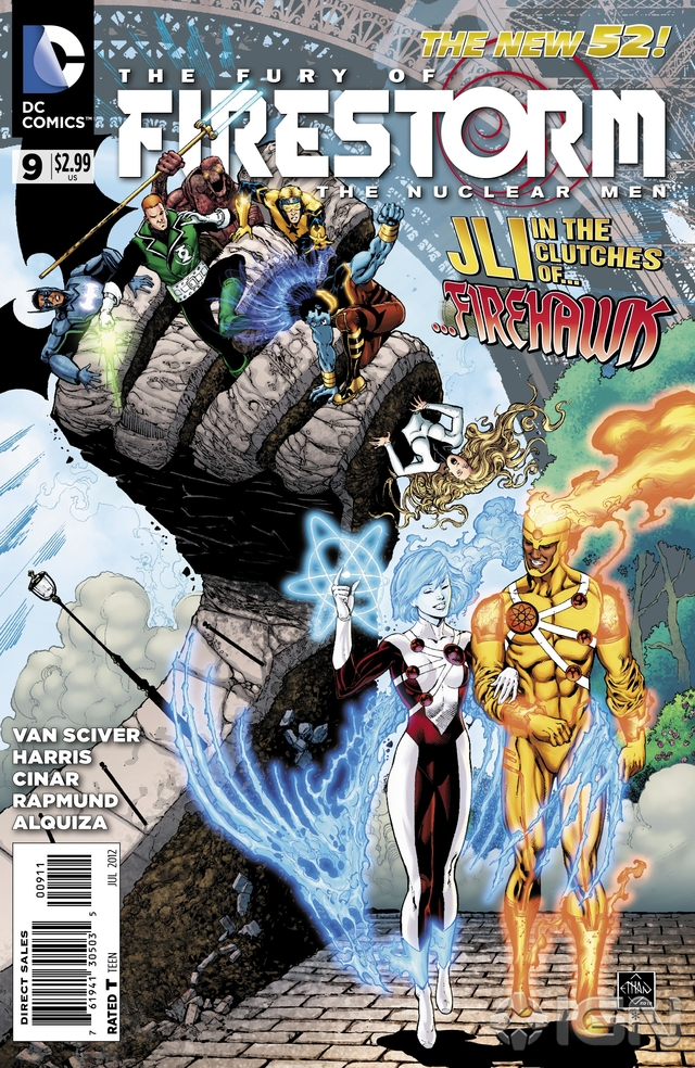 Preview VO - The Fury of Firestorm #9 1