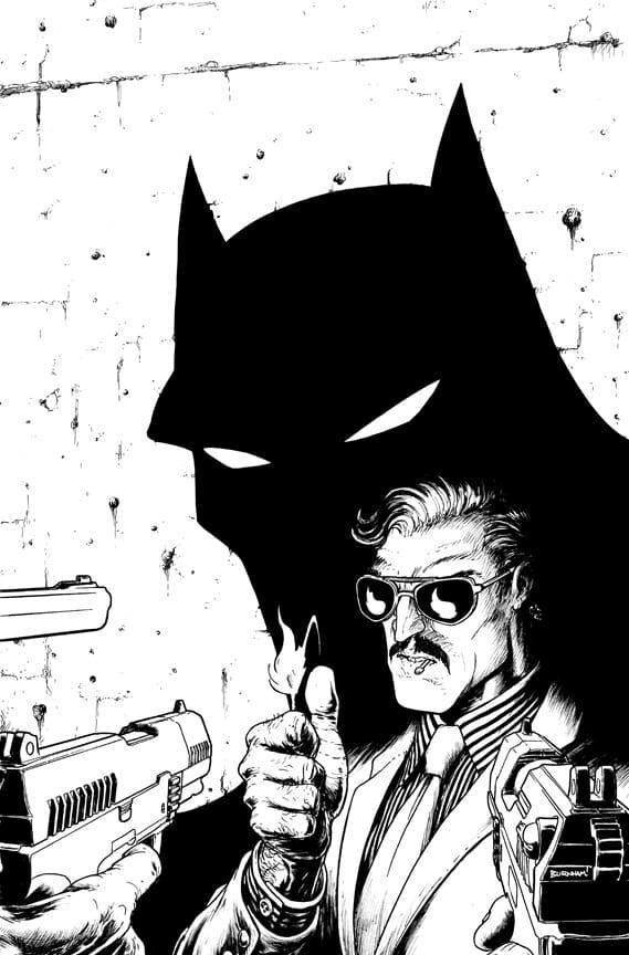 La variant cover de Batman Incorporated #3 3