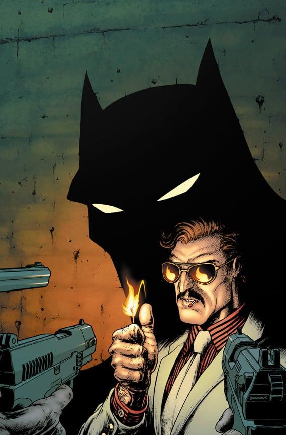 La variant cover de Batman Incorporated #3 2