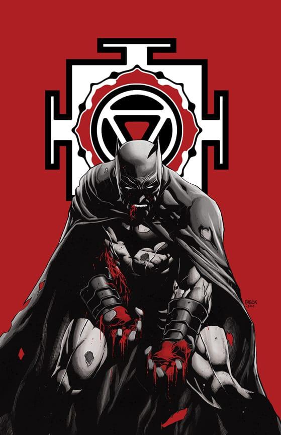 La variant cover de Batman Incorporated #3 1