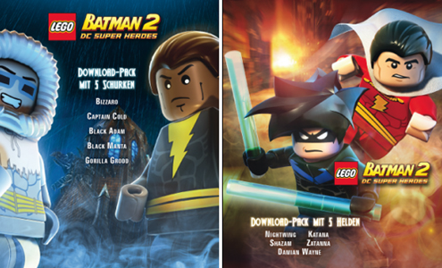 Lego Batman 2 : Deux packs DLC 1