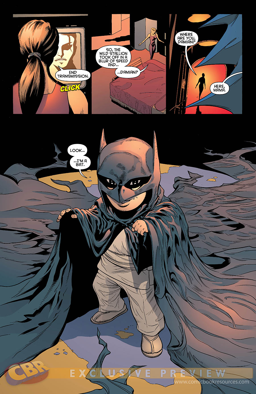 [Preview VO] Batman & Robin #0 | DCPlanet.fr