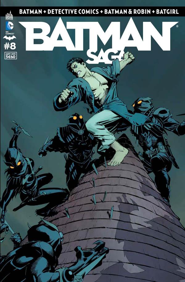 Review VF - Batman Saga #8 1