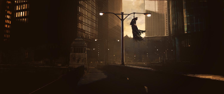 The Dark Knight Concept Art Du Gang Du Joker Amp Double
