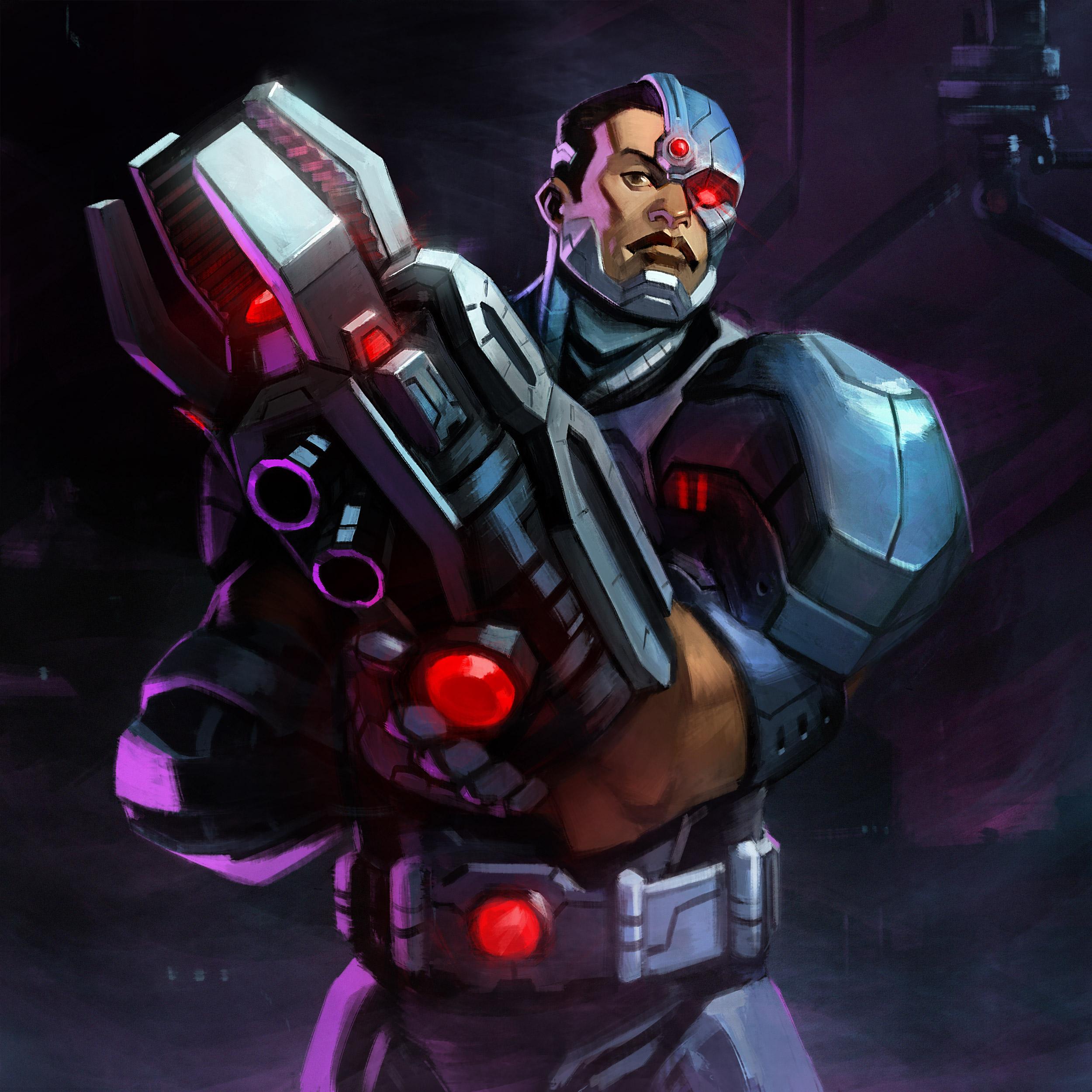 Infinite Crisis Profil Vid 233 O De Cyborg Dcplanet Fr