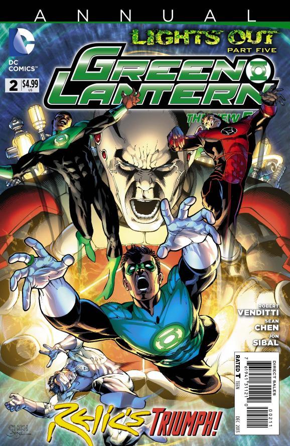 [Preview VO] Green Lantern Annual #2