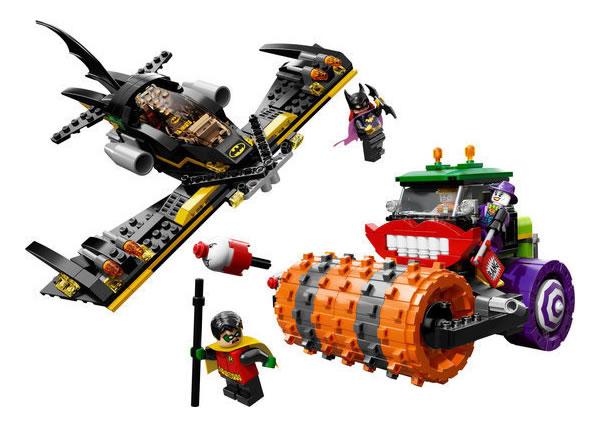 Lego Batman The Joker Steam Roller visuel