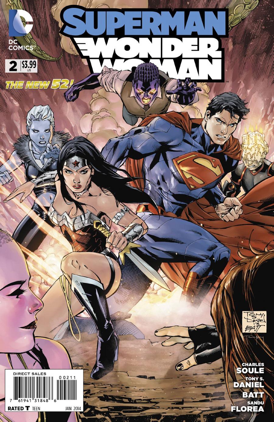 Superman/Wonder Woman #2 preview