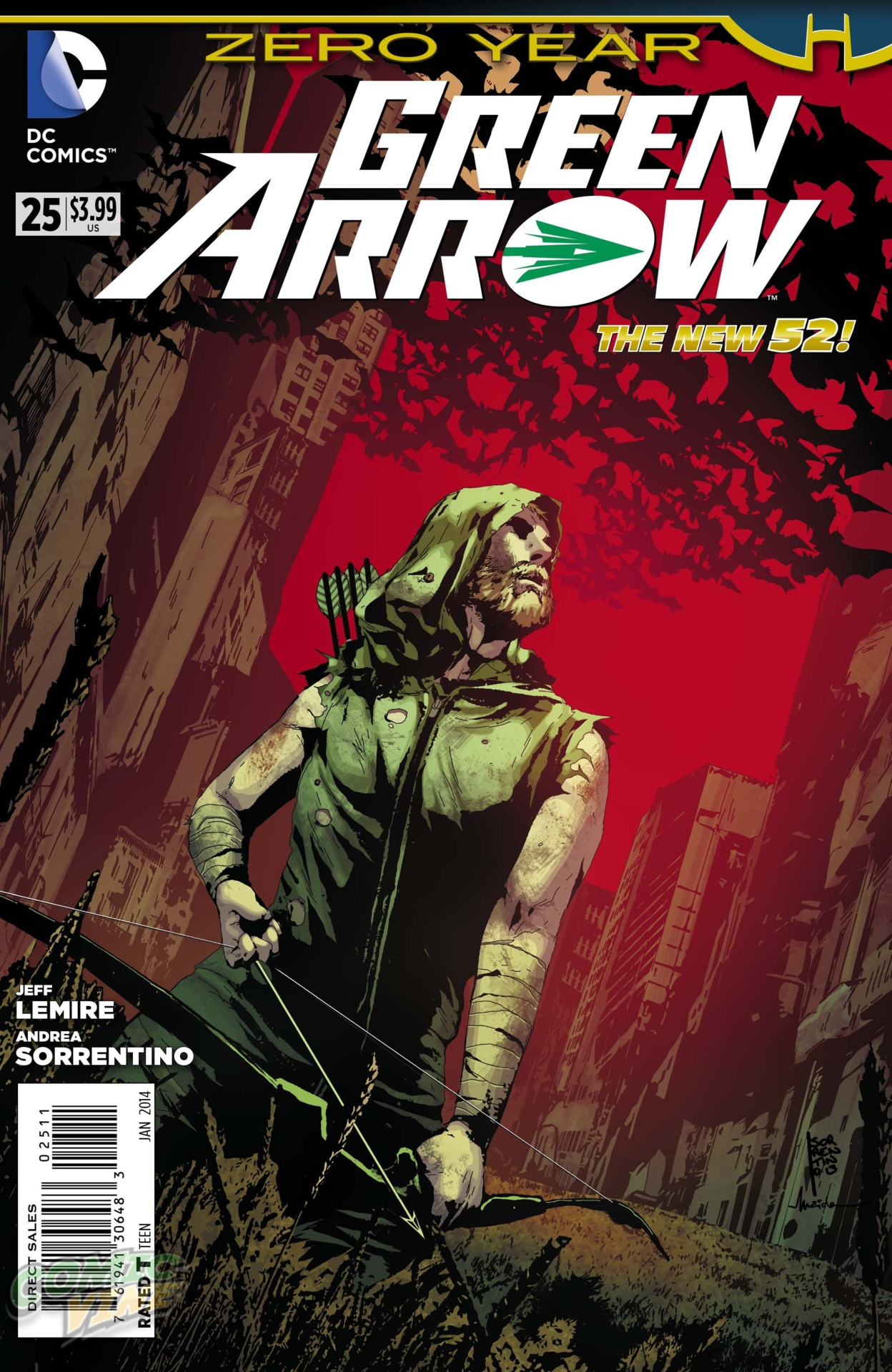 [Preview VO] Green Arrow #25