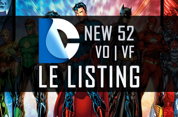 DC New 52 Le Listing