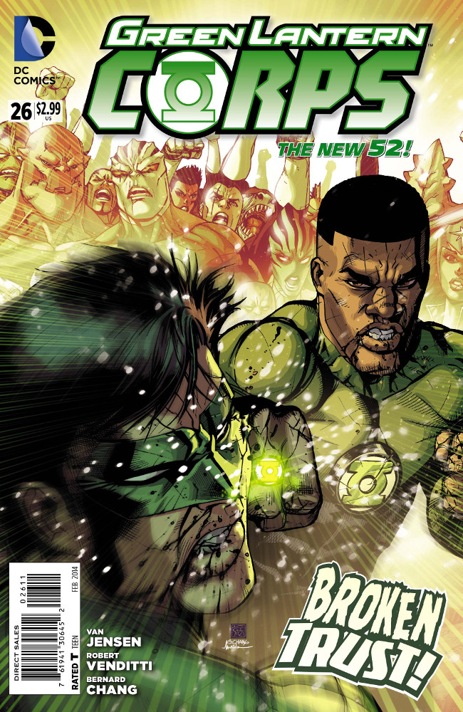 [Preview VO] Green Lantern Corps #26