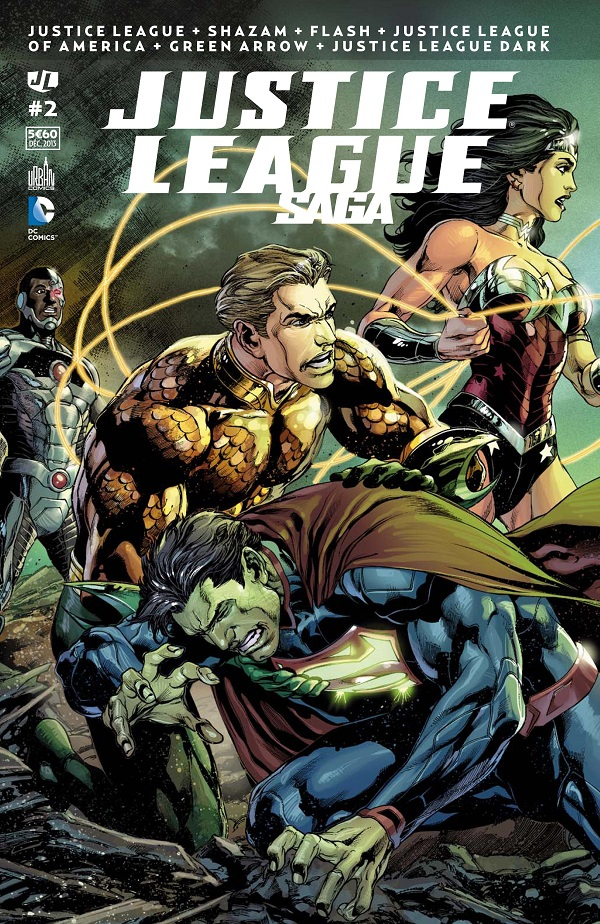 Critique vf justice league saga 2