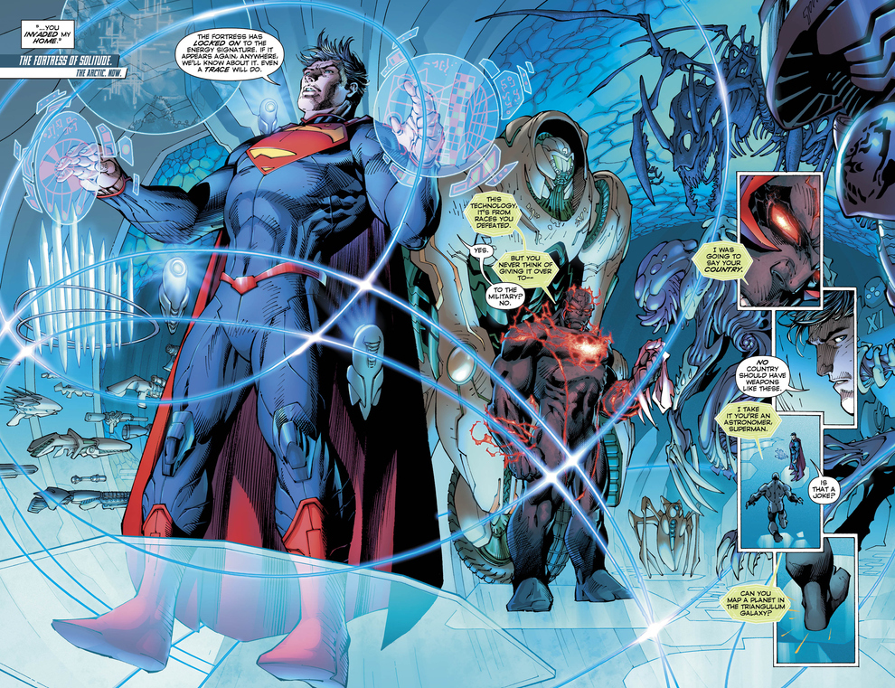 preview vo superman unchained 5 dcplanetfr