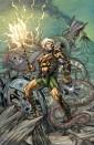 Aquaman #28 variant by Richard Horle