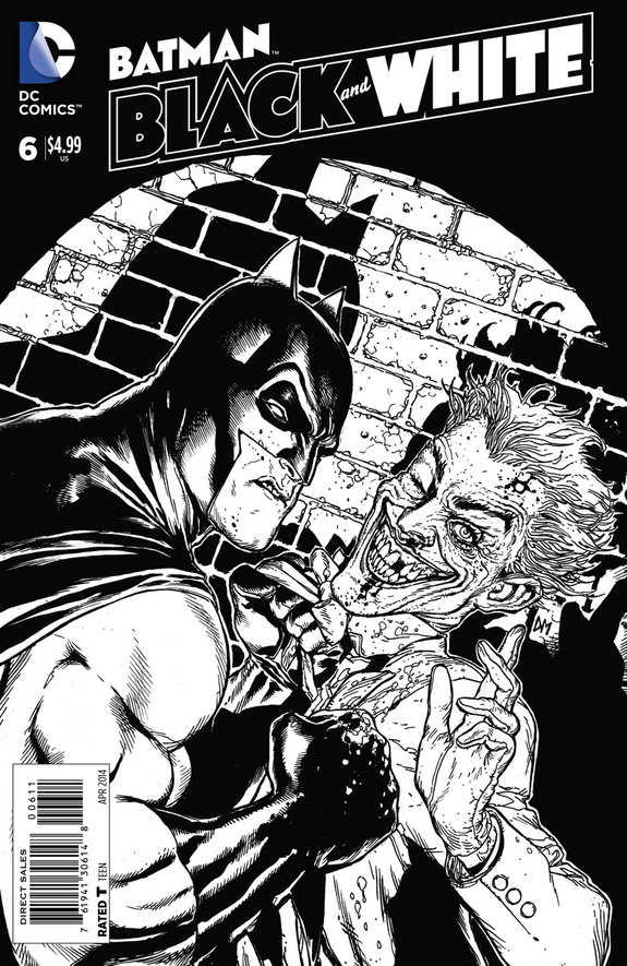 [Preview VO] Batman Black and White #6