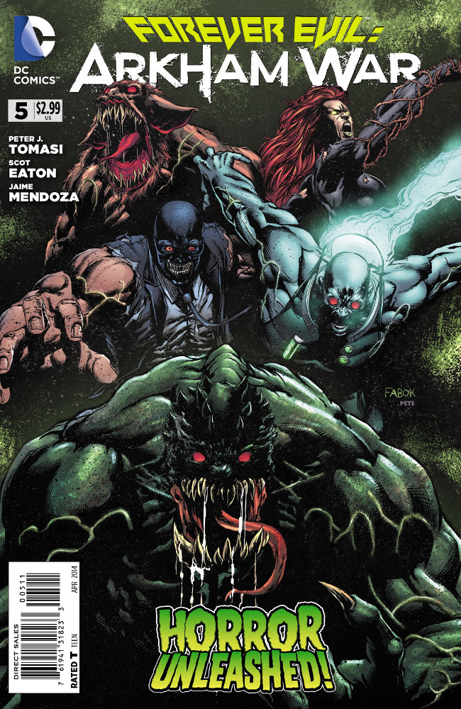 [Preview VO] Forever Evil : Arkham War #5