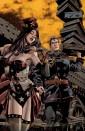 Superman/Wonder Woman #5 variant by Dan Panosian