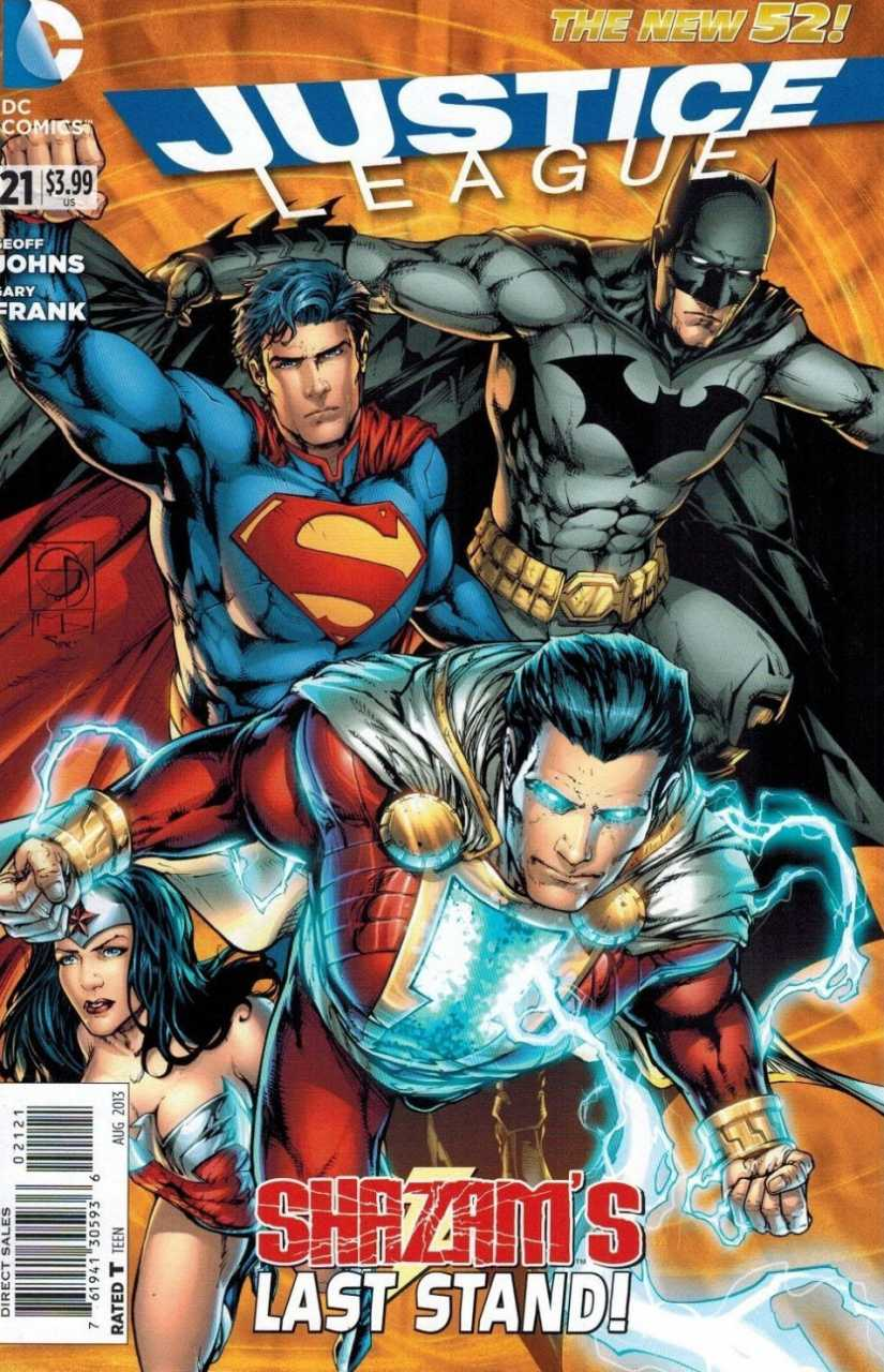 [Review VF] Justice League Saga #4