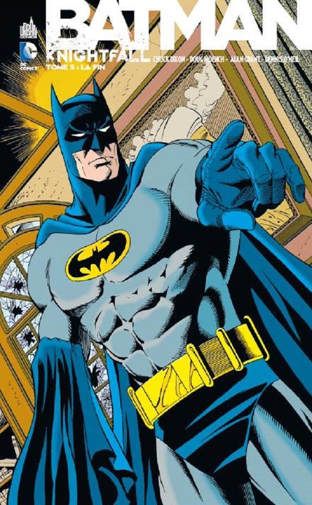 Critique de Batman Knightfall tome 5
