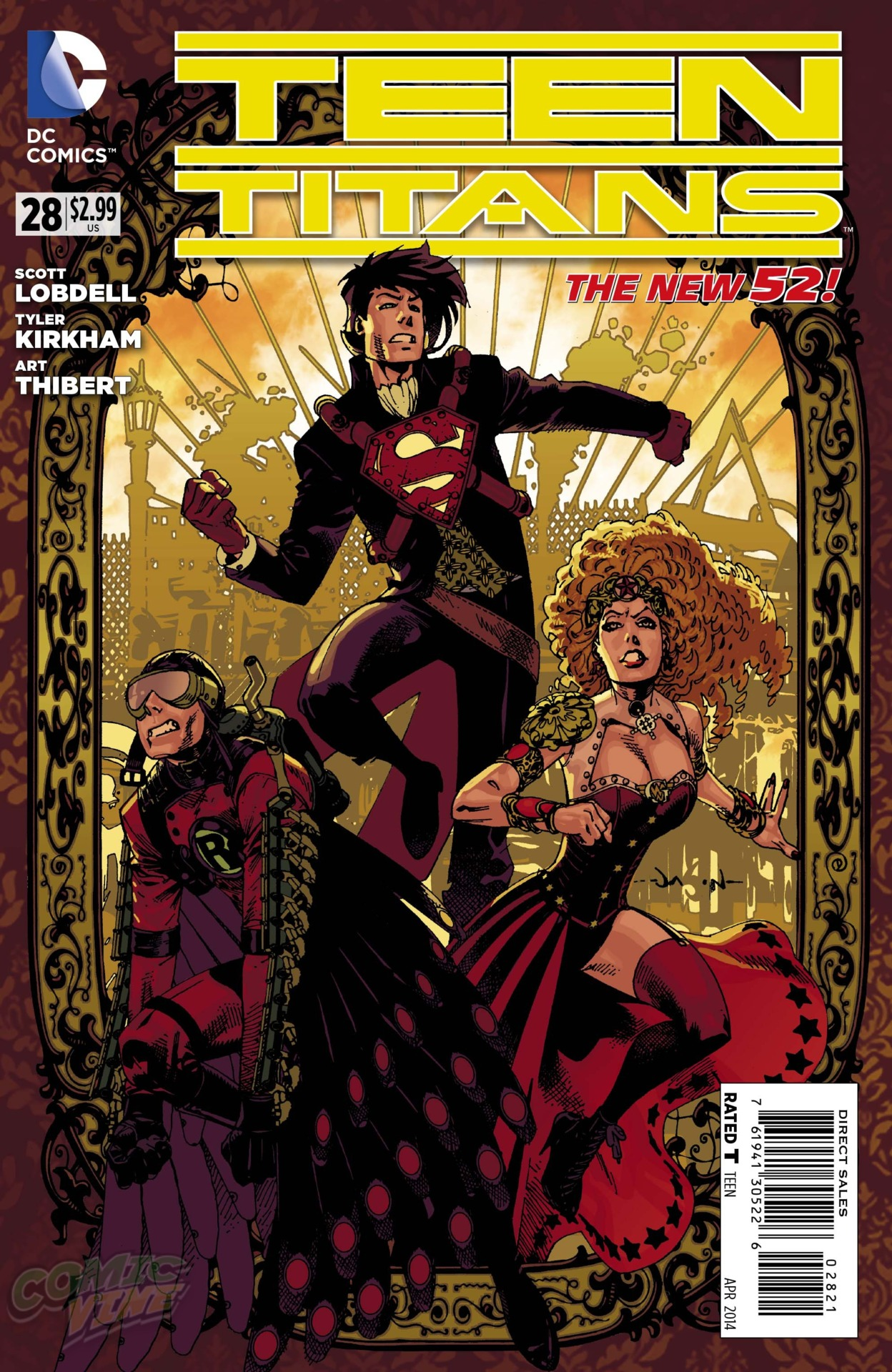 [Preview VO] Teen Titans #28