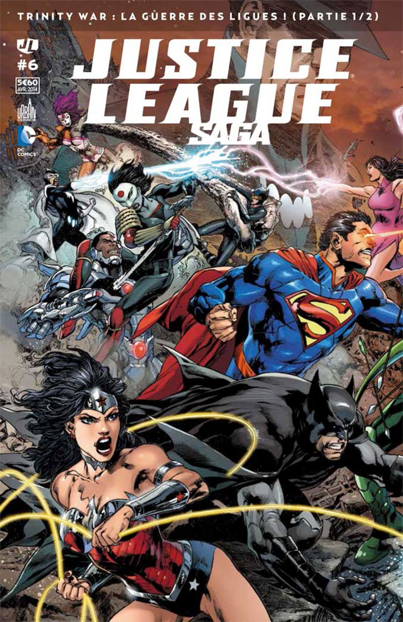 Review Justice League Saga #6