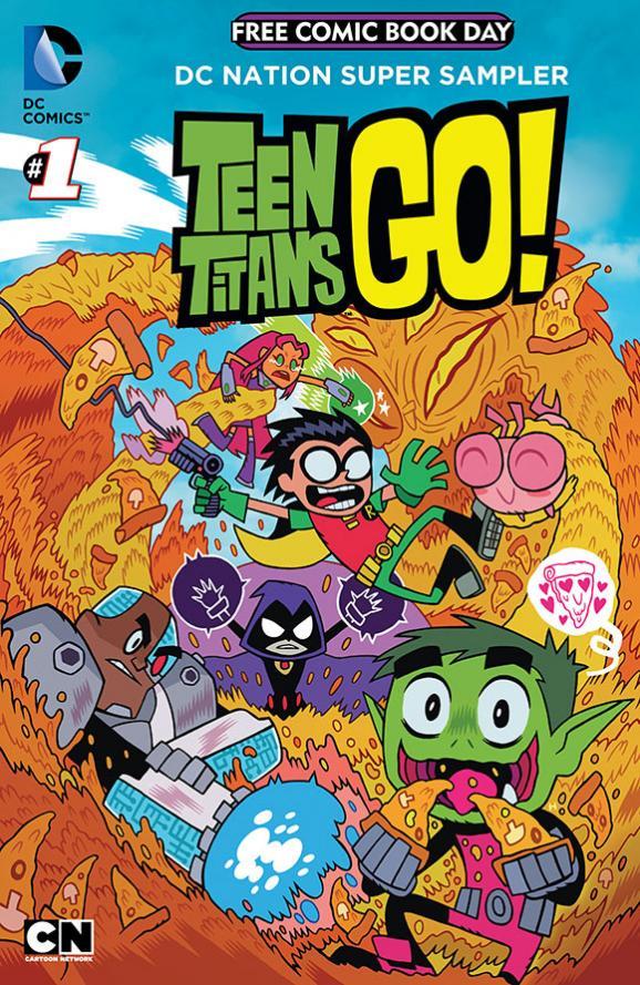Teen Titans Go #1 - FCBD