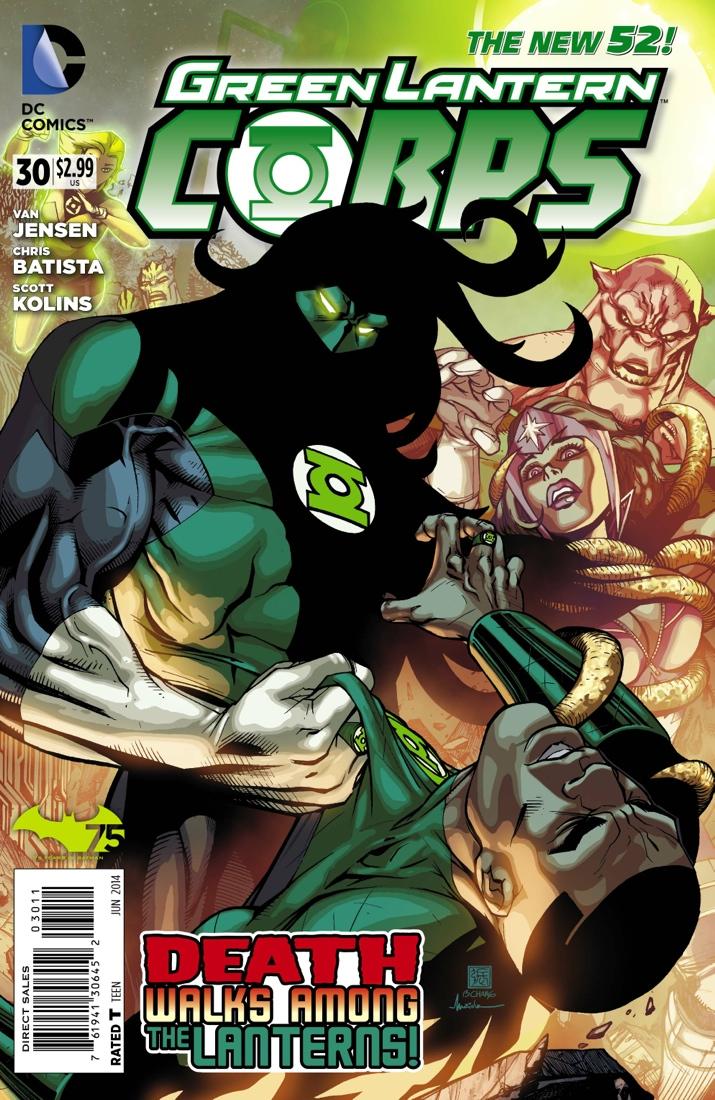 Preview Green Lantern Corps #30