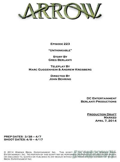 how to start a tv show script