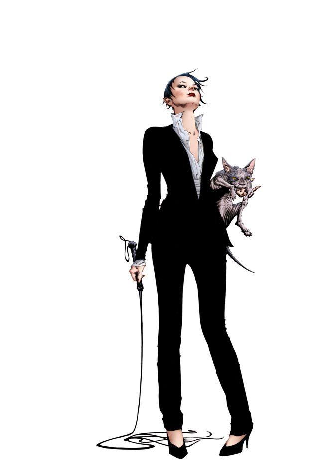 Catwoman par Jae Lee