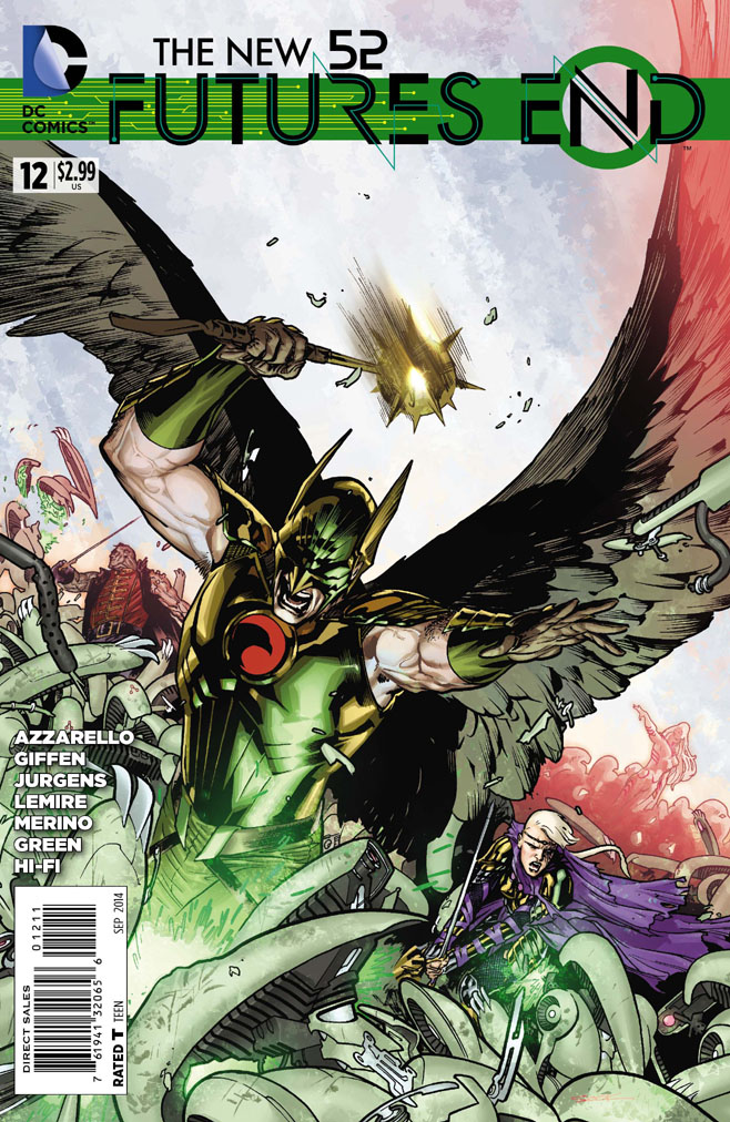 The New 52 : Future's End #12