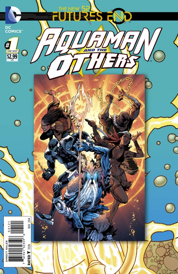 Preview Aquaman and the Others Futures End #1