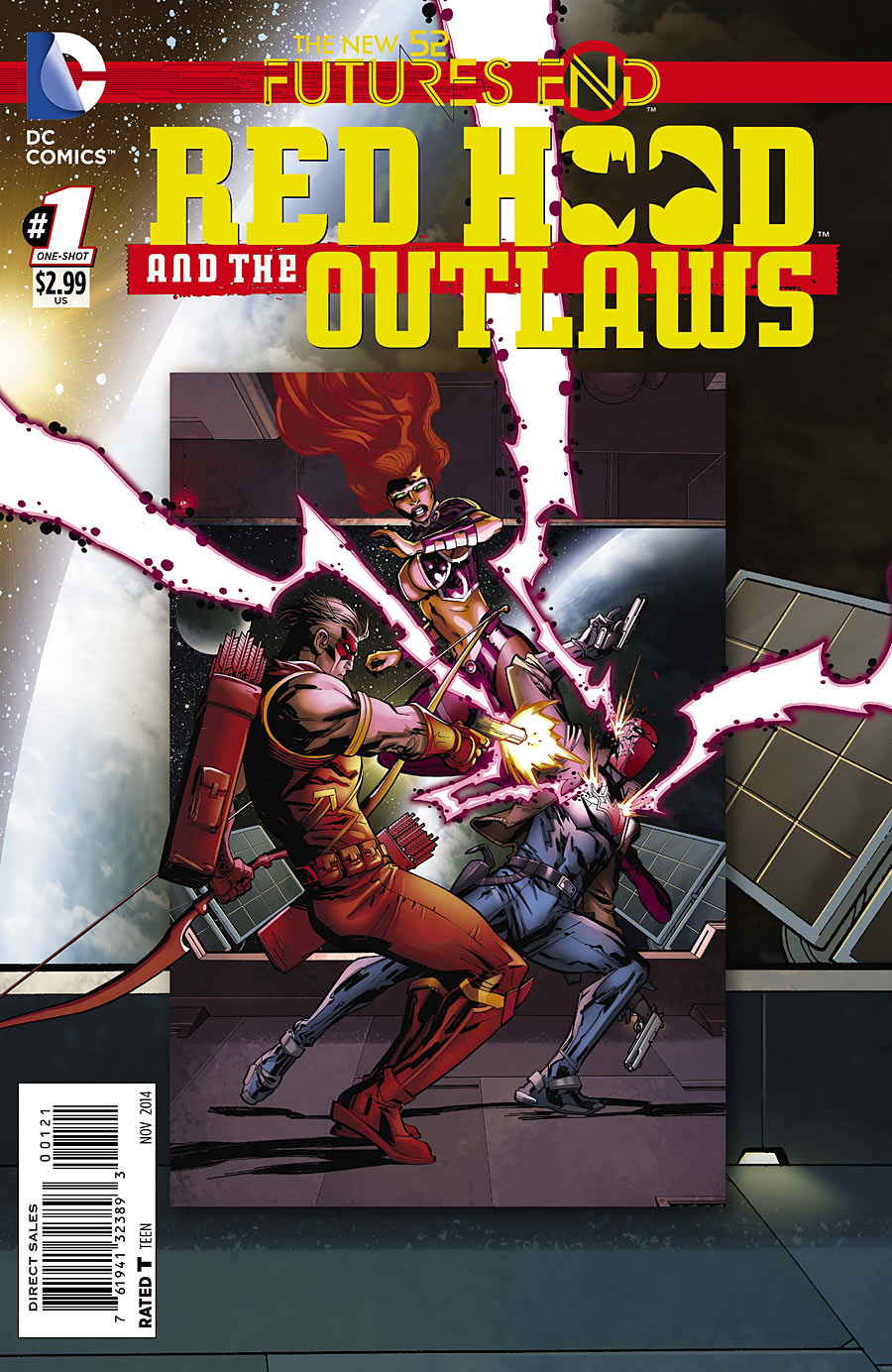 Preview Red Hood and the Outlaws : Futures end #1