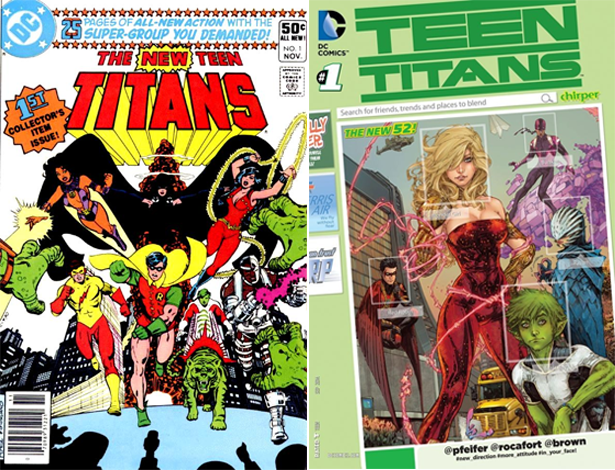 Teen Titans Cover