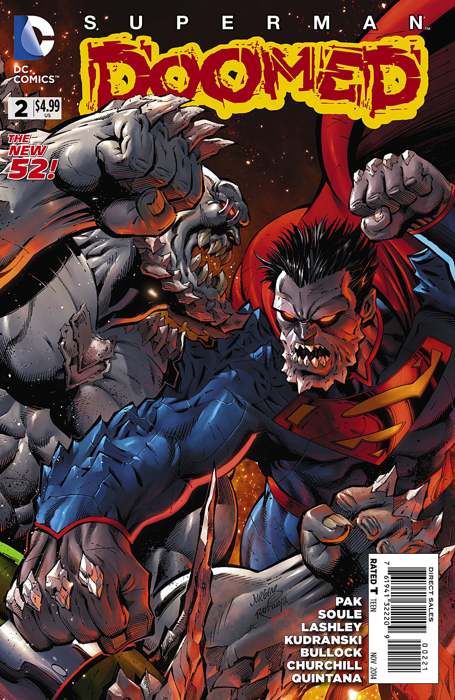 preview vo  superman   doomed  2