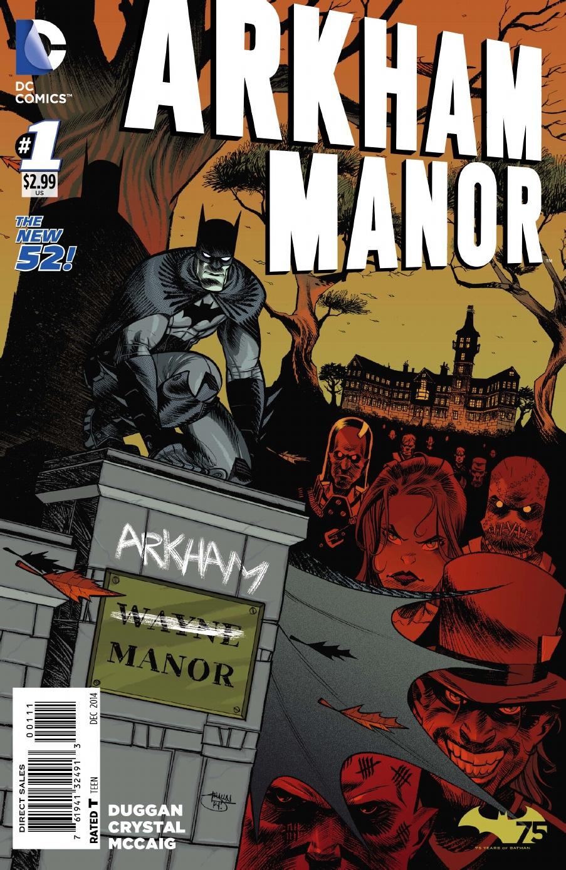 Review Arkham Manor #1