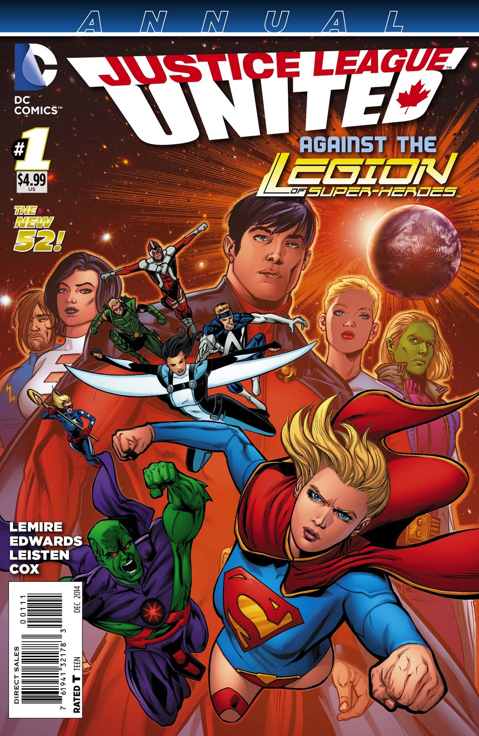 Preview Justice League United Annual #1
