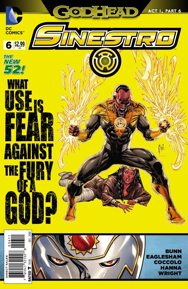 Preview Sinestro #6 - Godhead