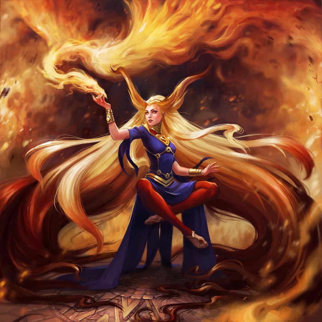 Arcane Supergirl