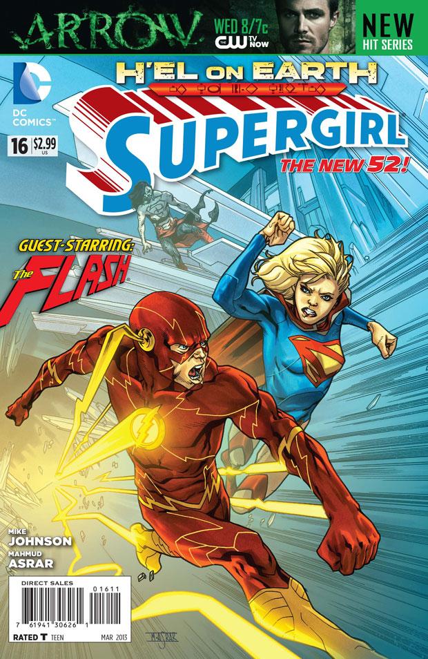 Supergirl liée à Arrow et The Flash ?