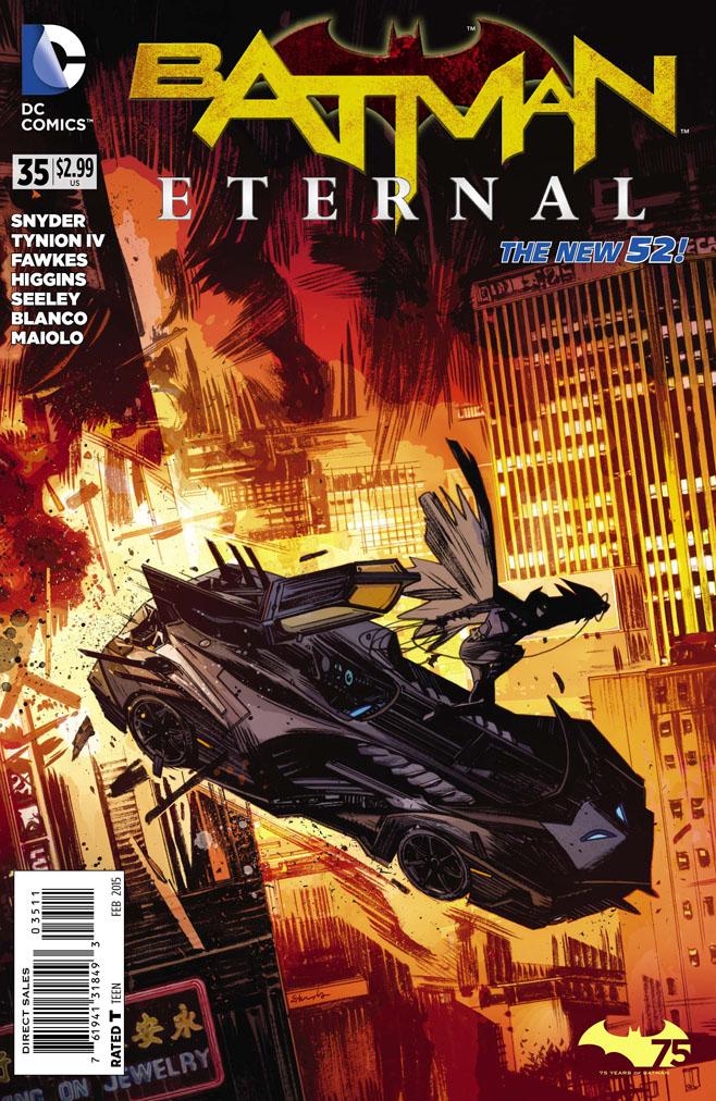 Preview Batman Eternal #35