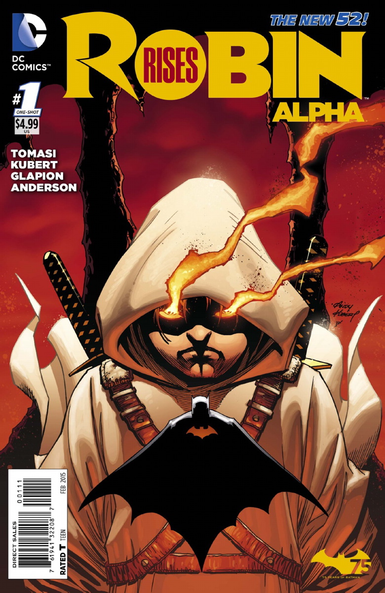 Robin Rises : Alpha #1