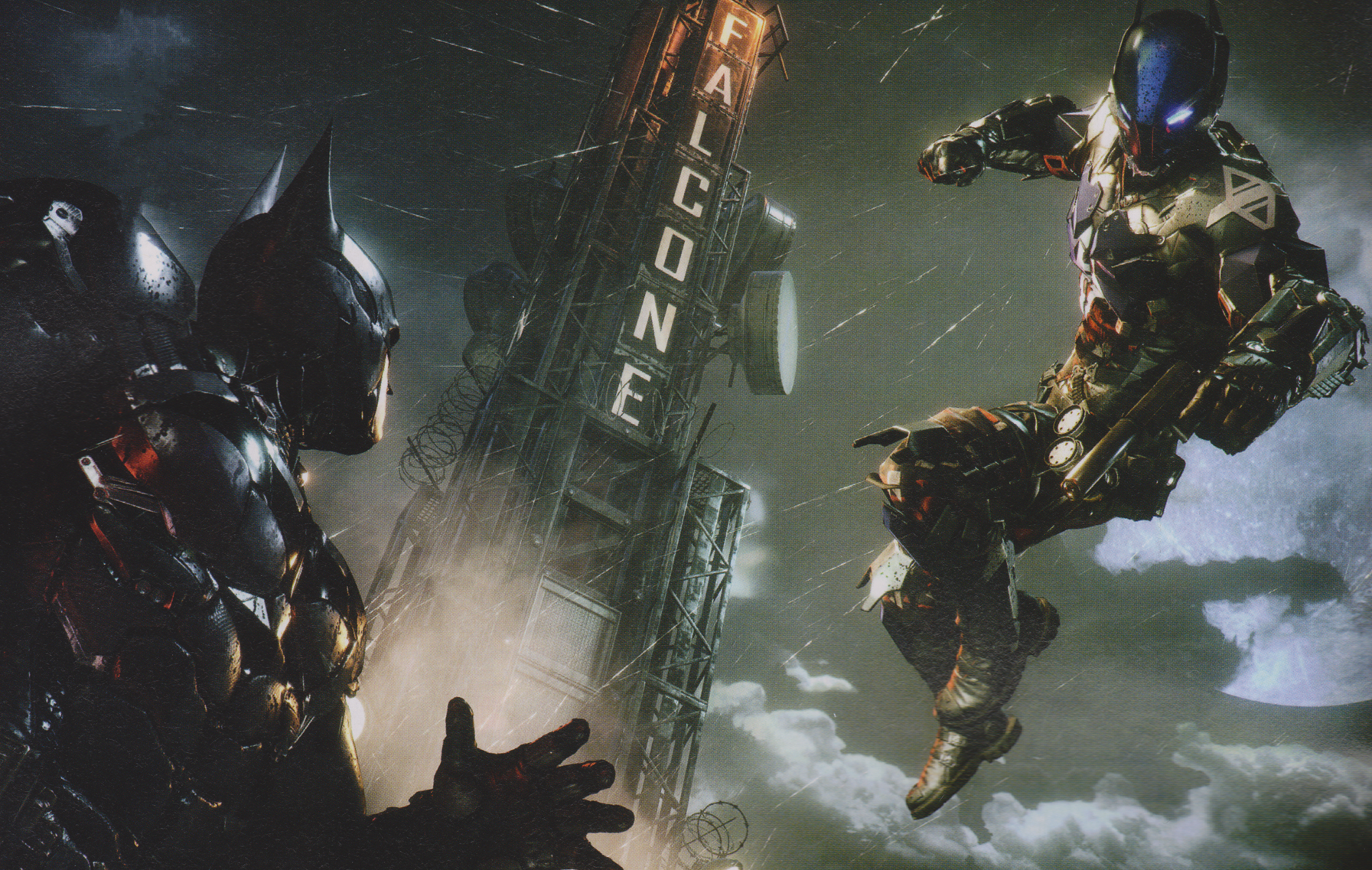how to use detective mode in arkham knight